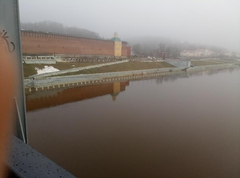 В Смоленске после Нового года затопило набережную
