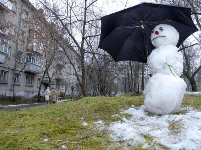Смоленскую область накроют январские дожди