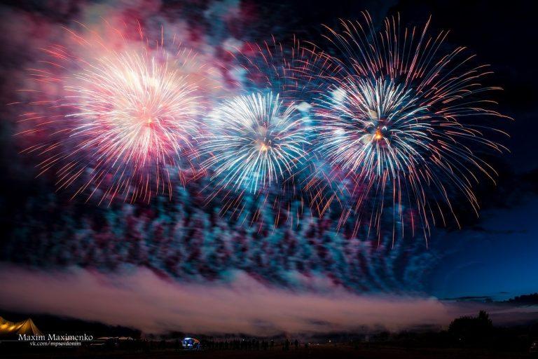 Очередной международный фестиваль фейерверков в Смоленске пройдёт в августе