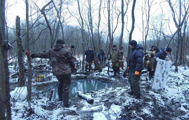 Под Вязьмой найдены останки 32 солдат
