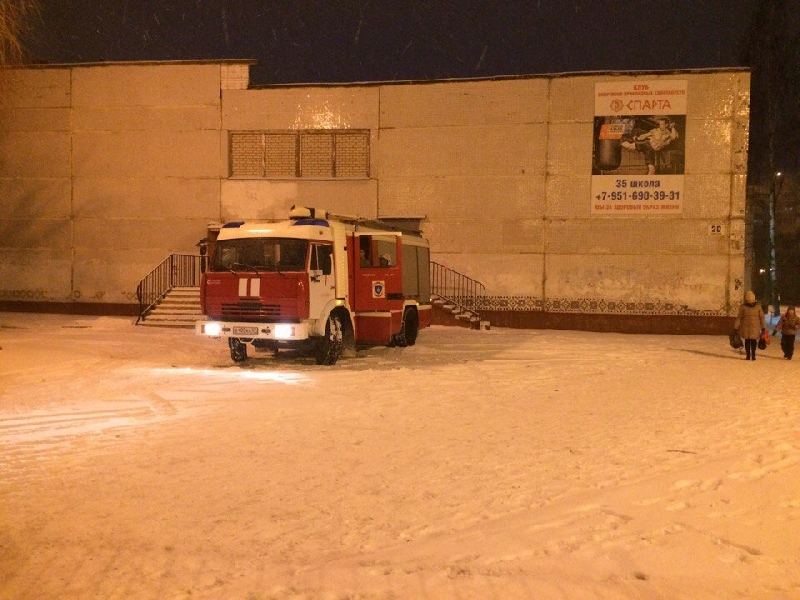 В Смоленске экстренно эвакуировали учеников школы