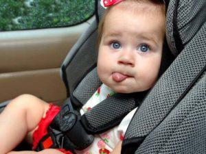 Смоленских автолюбителей проверят на соблюдение правил перевозки детей