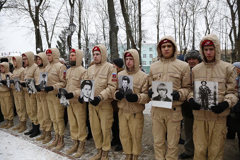 В Смоленске прошёл митинг, посвящённый 29-й годовщине вывода войск из Афганистана Новости 12:58, 15 февраля 2018