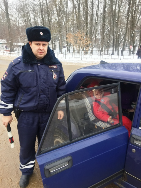 ГИБДД проведет в Смоленской области мероприятие «Ребенок-пассажир»