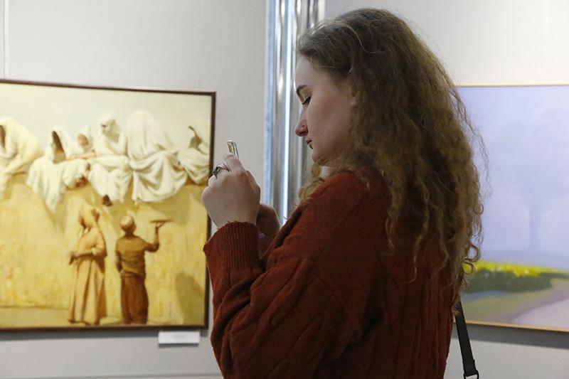 В Смоленске открылась выставка Товарищества передвижных художественных выставок