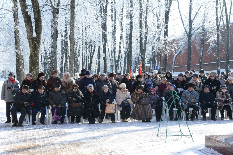 В Смоленске прошел митинг, посвященный Дню защитника Отечества