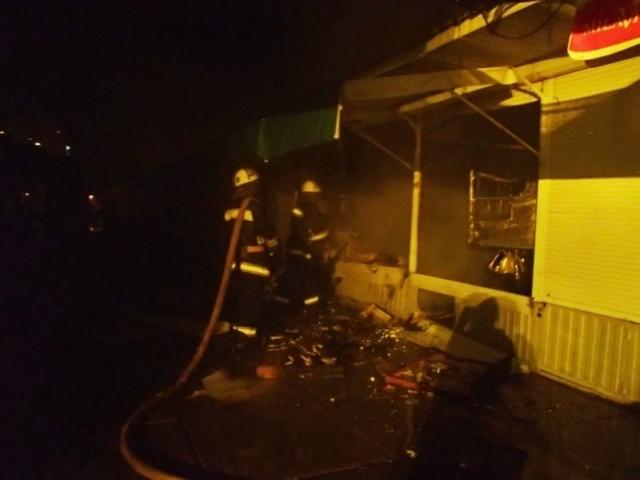 В райцентре Смоленской области горел второй магазин за двое суток
