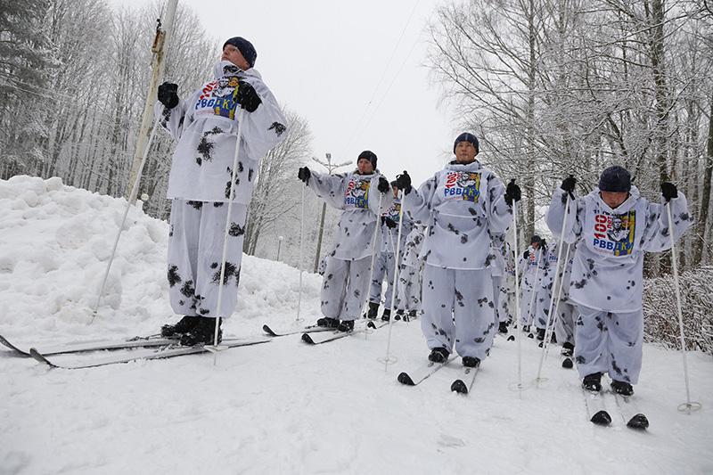 Через Смоленскую область прошел сверхдальний лыжный переход военнослужащих ВДВ