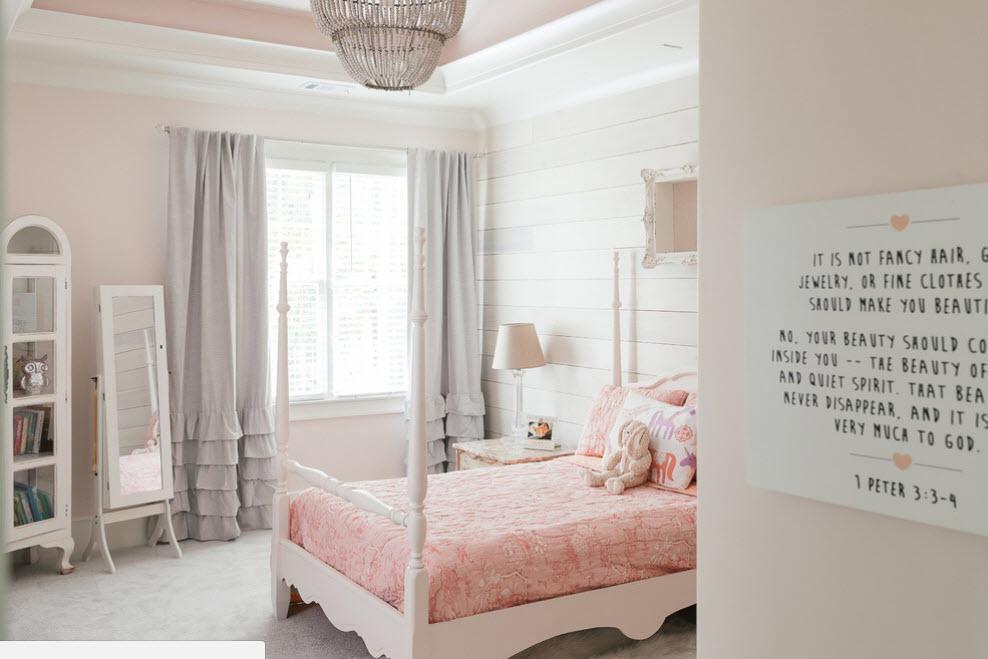 Интерьерная переделка в девичьей комнате