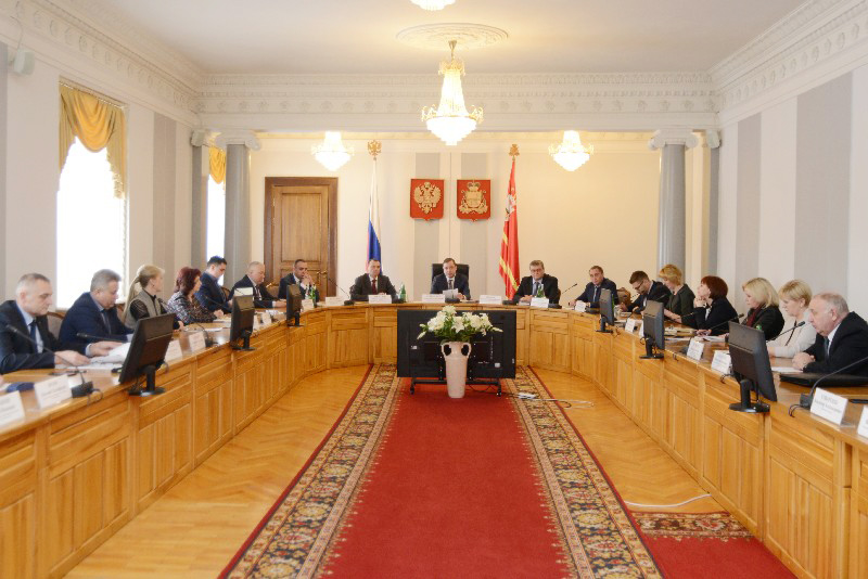 В администрации Смоленской области обсудили реализацию проекта «Формирование комфортной городской среды»