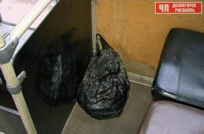 Смолян эвакуировали из маршрутки из-за угрозы взрыва