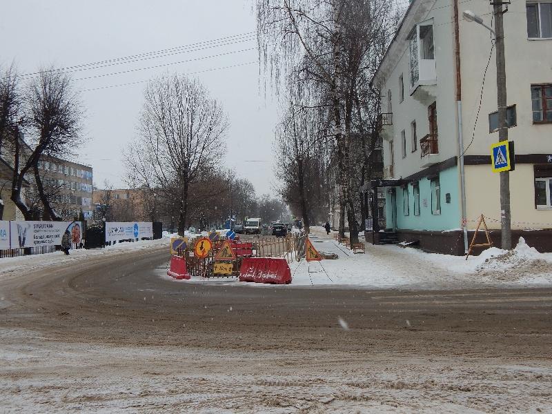 В Смоленске «Квадра» заменит еще полкилометра ветхой теплосети на улице Чаплина