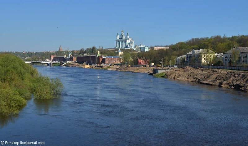 Через Смоленск может пройти водный туристический маршрут