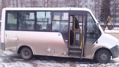 В Смоленске маршрутки возят детей с нарушениями