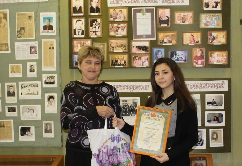 Юная смолянка вышла в финал Всероссийского конкурса краеведческих работ
