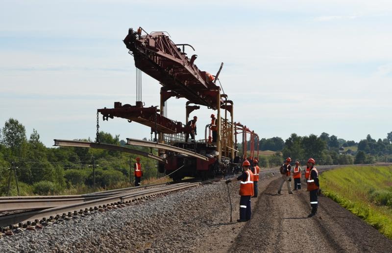 Расписание пригородного поезда Смоленск – Красное изменится в связи с ремонтом пути в апреле