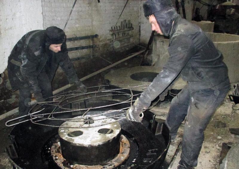 В исправительной колонии в Смоленской области развивается производство железобетонных изделий