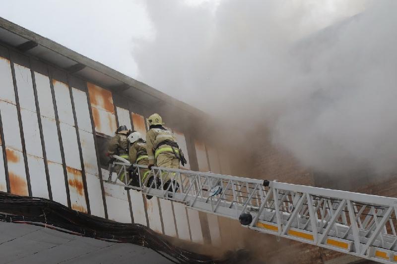 Стали известны подробности о пожаре в помещении бывшего смоленского завода холодильников