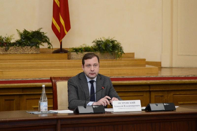 Алексей Островский провел заседание Совета по промышленной политике