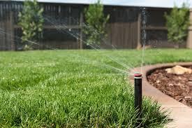 Система полива, один из аспектов качественного газона
