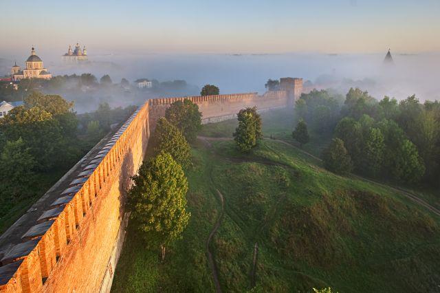 Продлен прием заявок на конкурс реставрации Смоленской крепостной стены