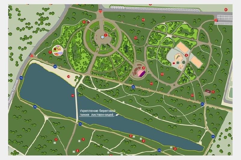 О ходе строительства парка в Словьиной роще в Смоленске будут еженедельно докладывать губернатору