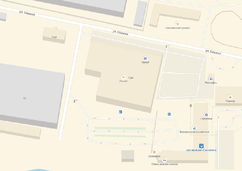 В Смоленске появится Автовокзальный проезд
