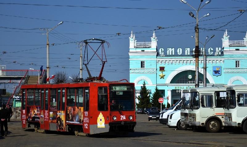 В Смоленске изменилась схема движения трамвая №4