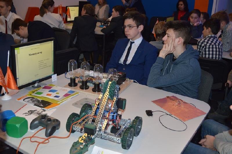 В Смоленске представили новых роботов