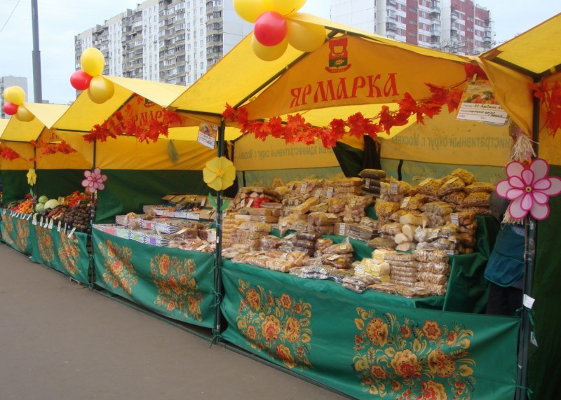 С начала года в Смоленской области проведено более 1,2 тысяч универсальных ярмарок