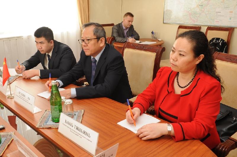 Смоленскую область посетила делегация Китайской Народной Республики