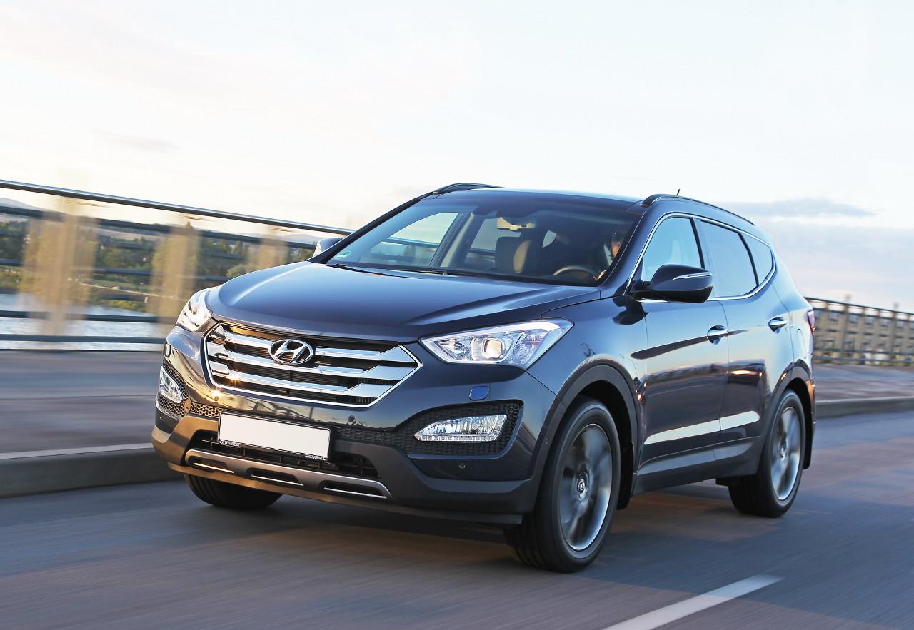 Обзор моделей Equus, ix35 и Santa Fe авто производителя Hyundai