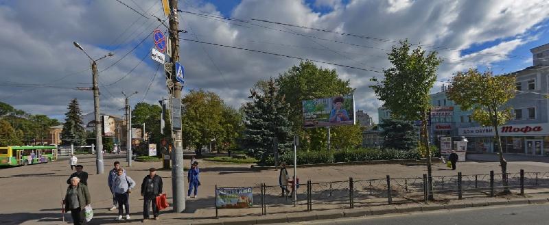 Когда в Смоленске отремонтируют сквер на площади Победы