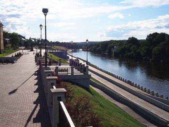 Какие павильоны установят в Смоленске на набережной Днепра