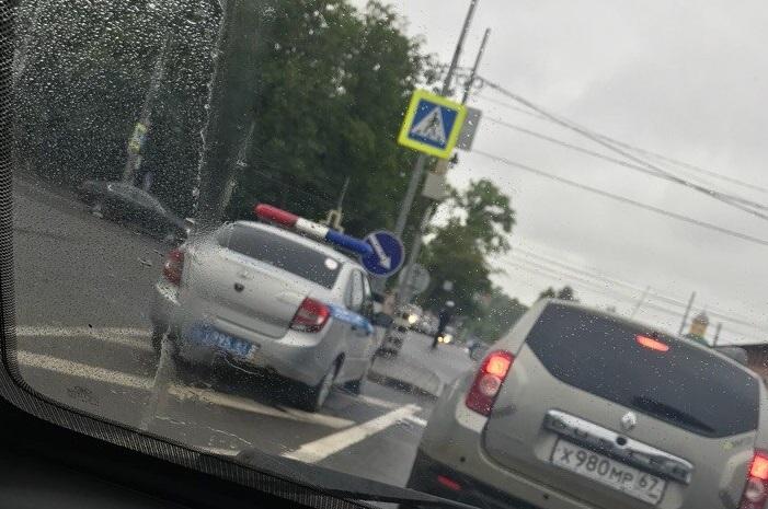 В центре Смоленска второй день не работает светофор