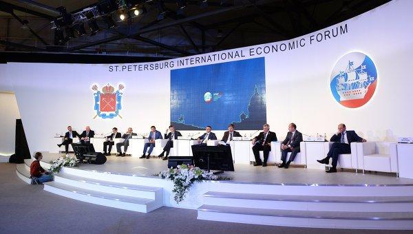 Губернатор Алексей Островский участвует в международном экономическом форуме в Санкт-Петербурге