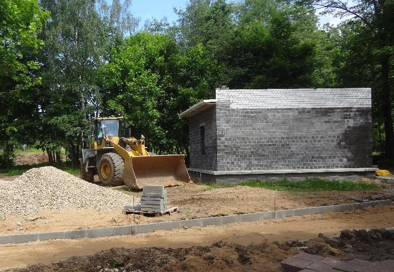 В Соловьиной роще в Смоленске начали создавать парк