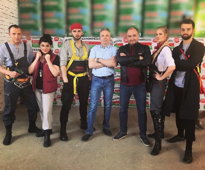В Смоленске прошли съемки рекламы с участием звезд СТС и ТНТ