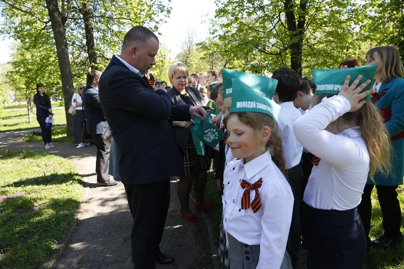 В Смоленске торжественно открыли «Островок памяти»