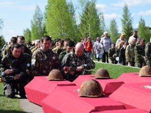 В Духовщинском районе завершилась межрегиональная «Вахта Памяти»