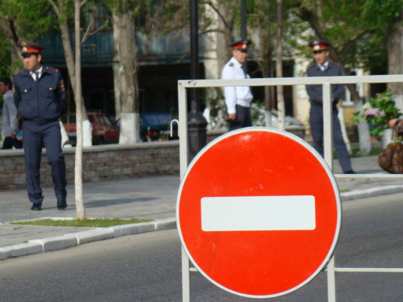 Какие улицы в Смоленске закроют для транспорта 9 мая