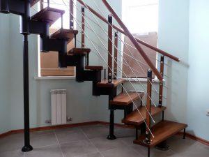 Изящные ограждения для лестниц