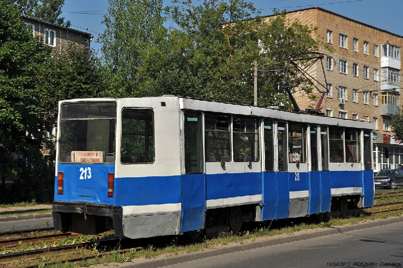В Смоленске до 30 июня не будут ходить трамваи по маршруту №1