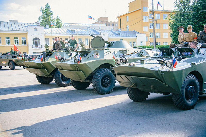 Смоленская область приняла международный бронепробег «Дорога мужества»