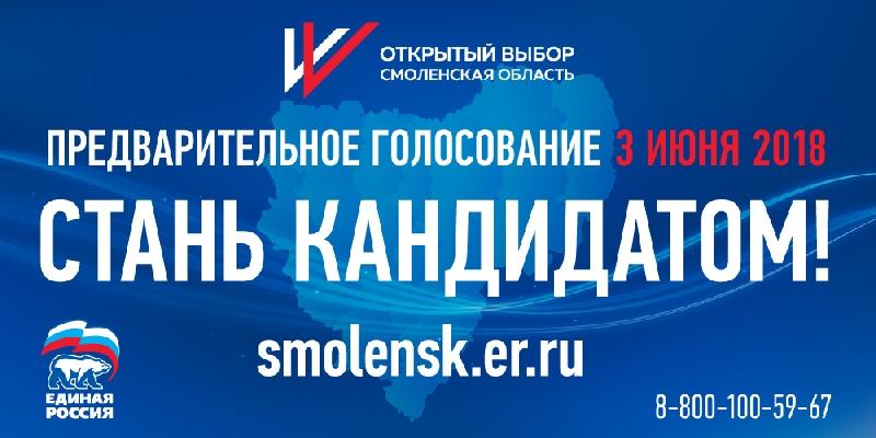 Стали известны границы участков для предварительного голосования в Смоленске