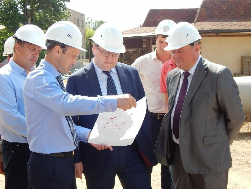 Гендиректор «Квадры» проинспектировал ход ремонтной кампании в Смоленске