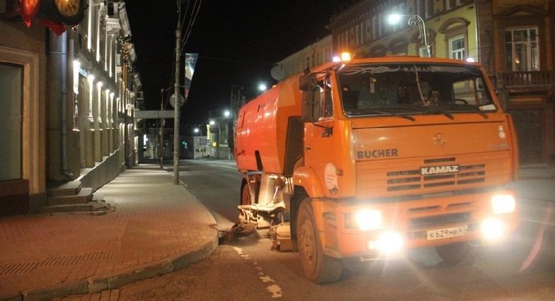 Какие улицы будут убирать в Смоленске на этой неделе