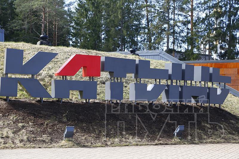 В Мемориальном комплексе «Катынь» началась прокладка гранитных дорожек