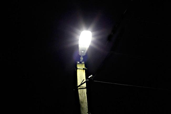 На замену светильников в смоленском поселке потратили более миллиона рублей