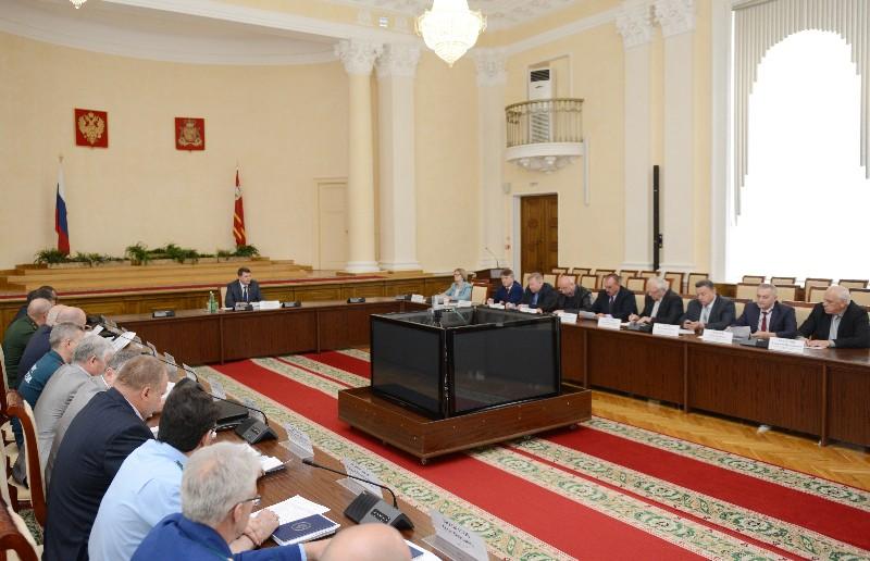 В Смоленске прошло заседание координационного совета по пограничной политике